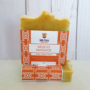 Muna Muscle Massage Soap Bar